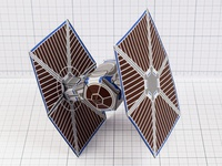 Paper Toy TIE Fighter