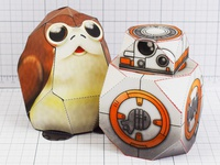 Star Wars Paper Toys