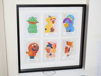 Minimal Muppets Framed