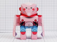 Pti   Summer Revo Paper Toy Image   Front