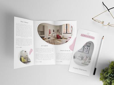 Tri Fold Brochure tri fold brochure vector abstract illustration graphicdesigner flyerdesign logo flyer design graphicdesign flyer artwork flyer fold tri