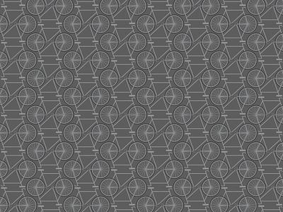 Bike Pattern gray bicycle bike pattern