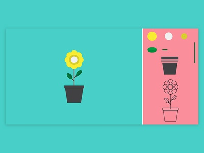 How To Illustrate 3 green cloud flower illustrator illustrate