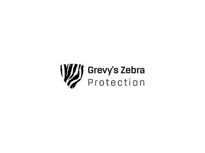 Grevy's Zebra Protection animal logo animal protection animal illustration zebra zebra logo grevys zebra identity branding logo