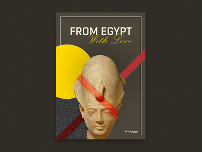 From Egypt With Love egyptian pharaoh king egyptian king poster pharaoh visit egypt egypt