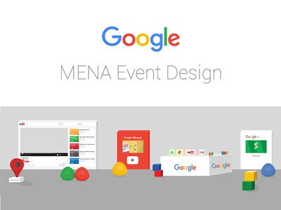Google MENA Events Design google dubai google mena google partner youtube event design google event design google ksa google event google egypt google arabia mena google