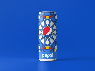Pepsi Geometric packagedesign pack design package vector design arab illustrator illustrate identity geometric pattern branding