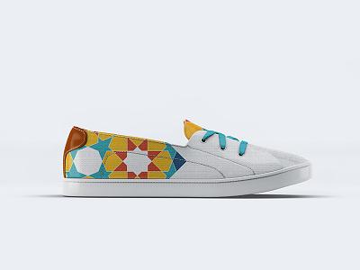 Sneaker Pattern design geometric pattern sneaker