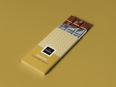 Patchi chocolate packaging vector geometric logo