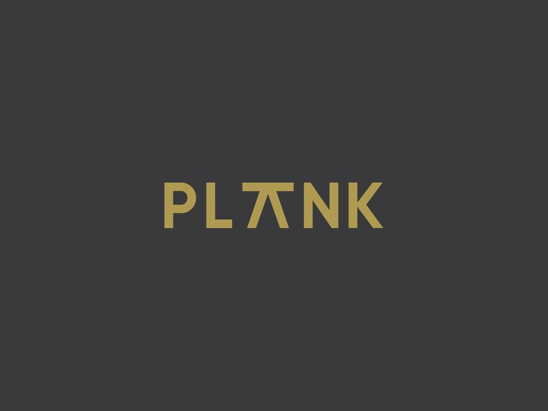 PLANK | interior studio studio furniture interior design identity illustrator logo branding
