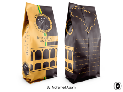 Coffee co . Packaging design