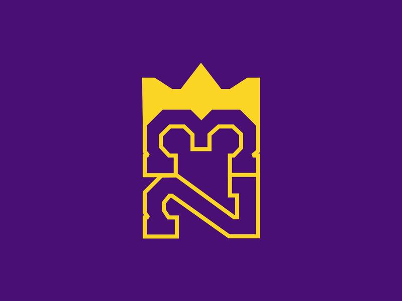 King James trending affinitydesigner vector branding sports lakers lebronjames basketball logo illustration