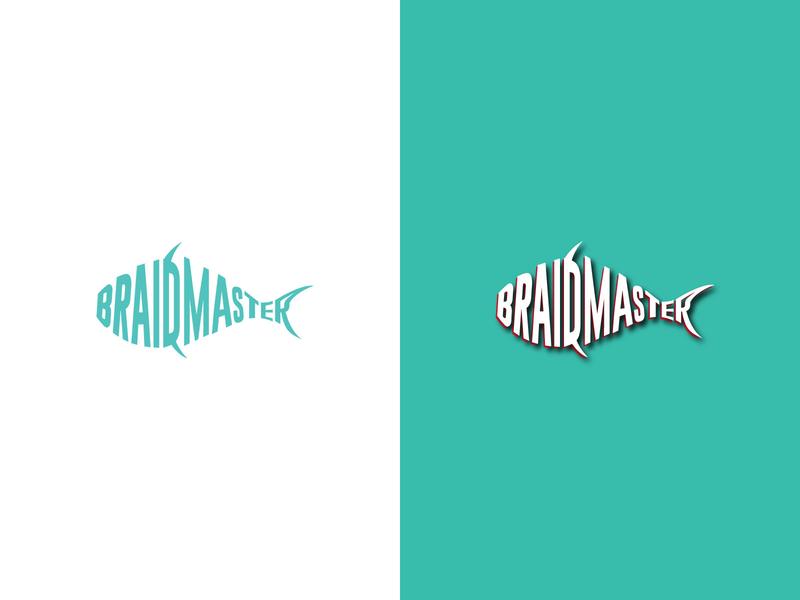 braidmaster logotype logo design