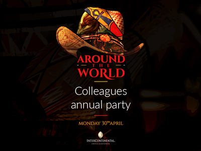 Around The World dragon india cowboy hat pharaohs china clothes annual party intercontinental around the world world arab