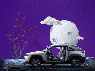 Mazda 100 Years art direction social media egypt social media campaign direction design manipulation branding uae mazda animation video dubai