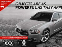 Dodge Charger Direct Mail Piece