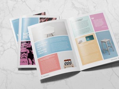Colorful Newsletter