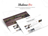 Shadower Pro - Multi-purpose WordPress Blog Theme