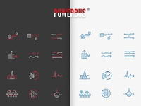 Powerbus Icons Design