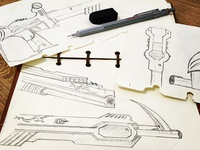 Weapon Sketch of CF