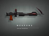 Grim Reaper  - Weapon Ui Design