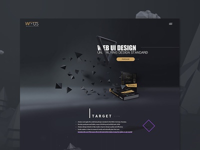 English version of the WUS Onepage Design black book ux ui uidesign web webdesign onepage