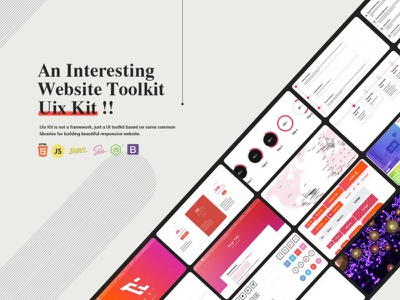 An Interesting Website Toolkit - New Release interface responsive webdesign css3 css sass html5 javascript webpack bootstrap ui frontend frontend development toolkit