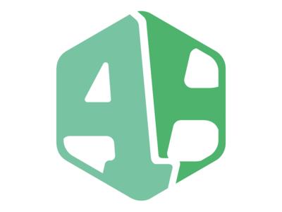 Personal brand - Logo badge stamp photograph desginer letters cropped hexagon monogram logotype logo personal