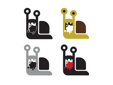 Salty Snail Icon variations