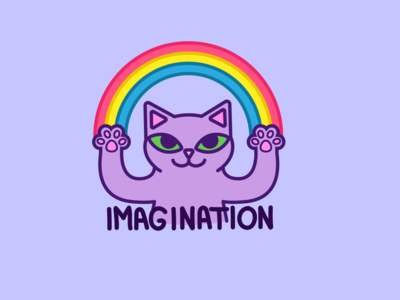 Imagination cat