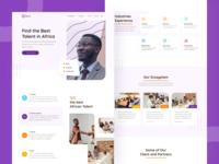 Gebeya Landing Page - Redesign