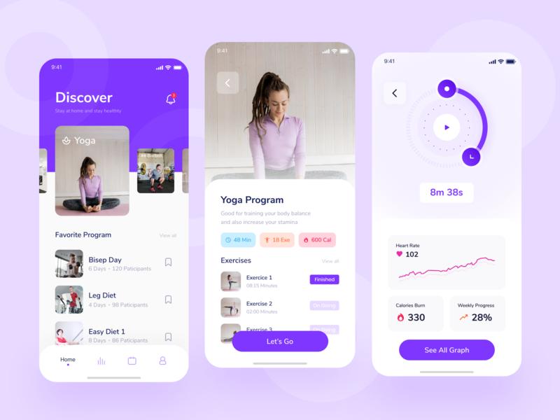 Homefit Mobile App