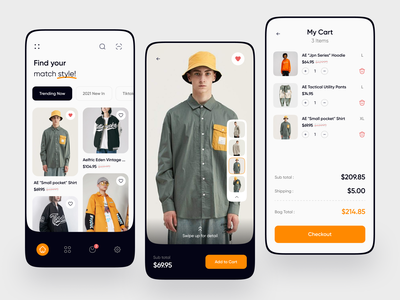 Fashion Store Mobile App online store commerce young stylish style ios mobile mobile app store app stores product product page fashion design fashion brand fashion app fashion online store home online shop shop store