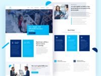 Investment Landing Page (Redesign)