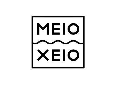 meio xeio work in progress identity brand design logo design logo