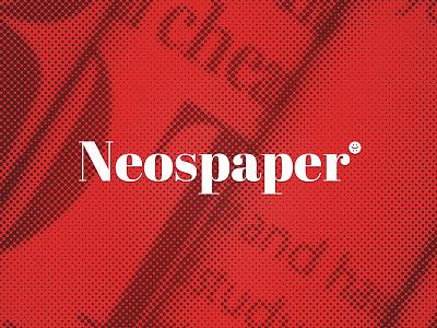 Neospaper Logo app product design brand logo