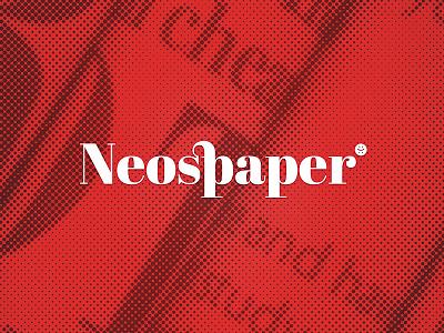Neospaper v2 product app brand logo design