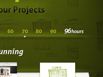 96 hp Homepage  website homepage ui green web texture