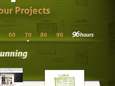 H Shot2 website green texture ui web homepage
