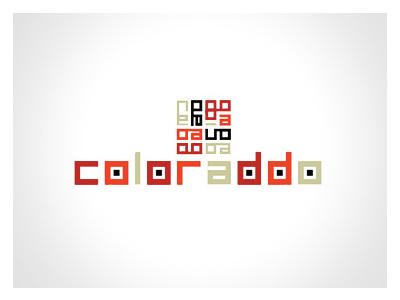 Coloraddo design logo app color mobile branding