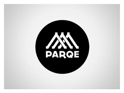 Parqe design logo mobile branding app