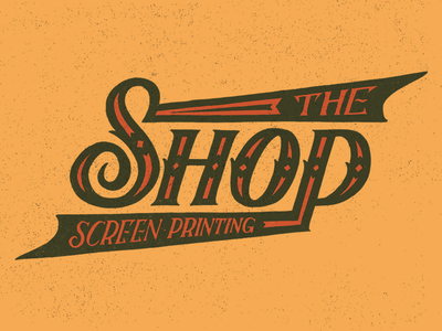 The Shop - Screen Printing