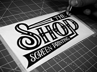 The Shop - Screen Printing - Ink