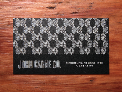 John Carne Co. Business Cards