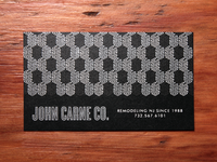 John Carne Co. Business Cards