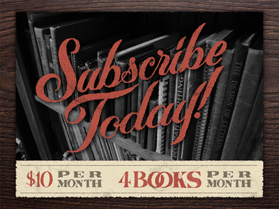 Lettering Library - Subscribe!