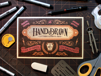 Hand Drawn Lettering Elements Vector Pack