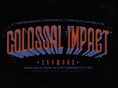 Skyward - A Towering Typeface pt. 2