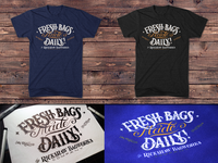 Fresh Bags Made Daily