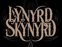 Lynyrd Skynyrd Custom Lettering
